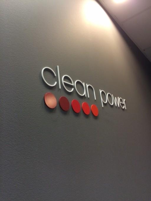 Signalétique Clean Power