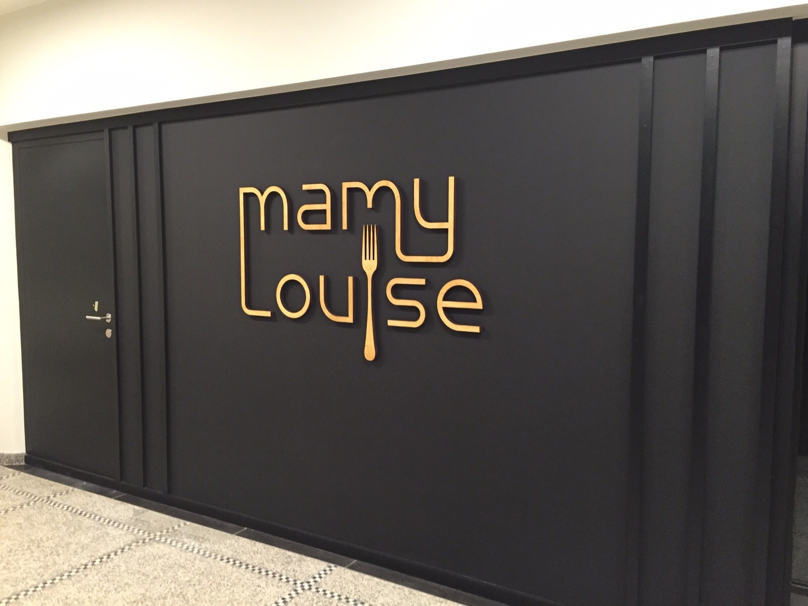 Signalétique Mamy Louise