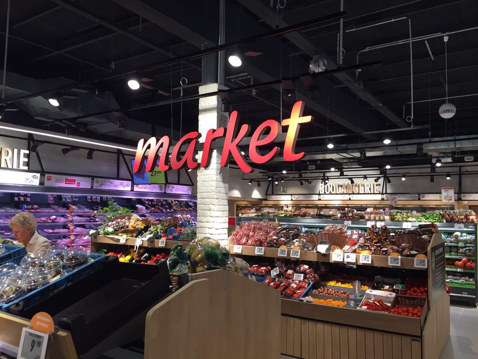 Enseigne Carrefour Market
