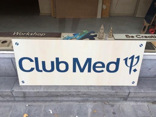 Signaletique Club Med