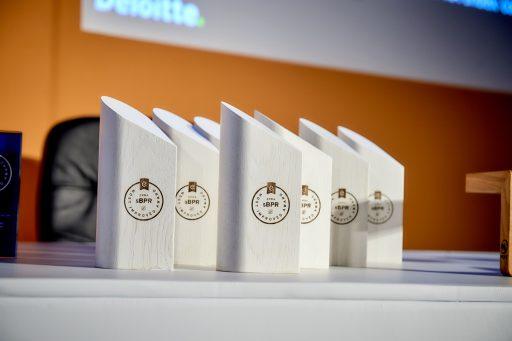 EPRA - trophys wood lasercut by inkut lab