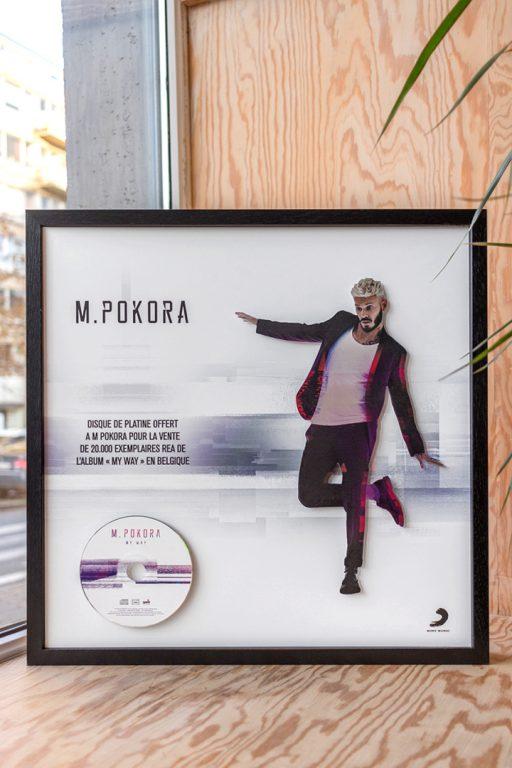 Sony Music x M Pokora - powered by Inkut Lab