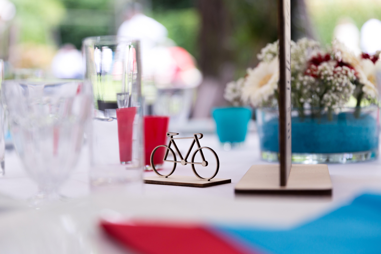 Mariage Champêtre - wedding lasercut découpe vélo